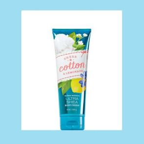 Bath and Body Works Sheer Cotton & Lemonade Body Cream 226ml