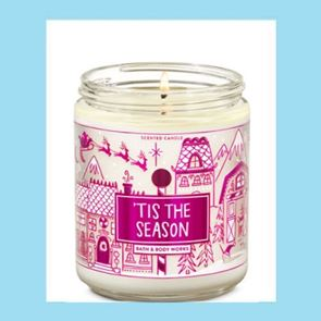 Bath and Body Works Candle Tis The Season 198gm