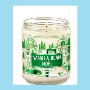 Bath and Body Works Candle Vanilla Bean Noel 198gm