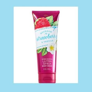 Bath and Body Works Bourbon Strawberry & Vanilla Body Cream 226ml
