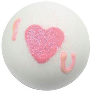 Bomb Cosmetics Heart That Glitters Bath Bomb 160gm