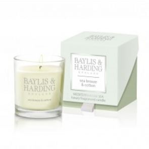Baylis & Harding Mediterranean Sea Single Wick Candle