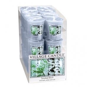 Village Candle Decor Votive Smoked Birch 61gm