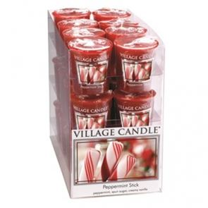 Village Candle Decor Votive Peppermint Stick 61gm