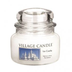 Village Candle Jar Small Ice Castle 701gm