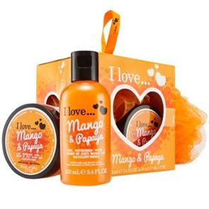 I Love...Mango & Papaya Mini Treat Kits