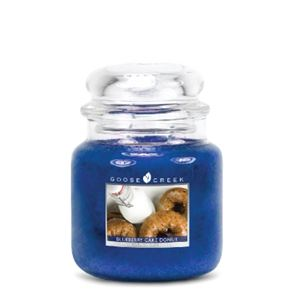 Goose Creek Medium Candles Blueberry Cake Donut 16oz
