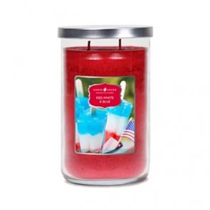 Goose Creek Tumbler Candles Red White & Blue 20oz