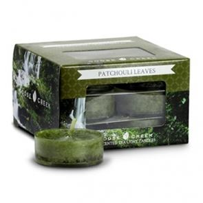 Goose Creek  Scented Tea Lights Patchouli Leaves