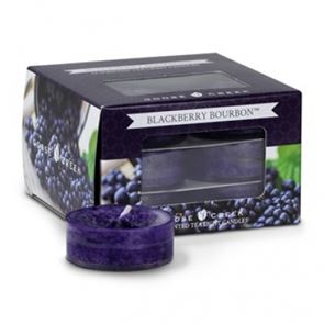 Goose Creek  Scented Tea Lights Blackberry Bourbon