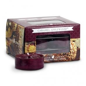 Goose Creek  Scented Tea Lights Caramel Apple Wood