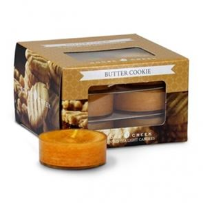 Goose Creek  Scented Tea Lights Butter Cookies