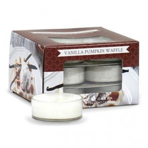 Goose Creek  Scented Tea Lights Vanilla Pumpkin Waffle