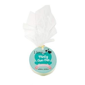 I Love Cosmetics .....Minty Choc Chip Fizzing Bath Bomb 150gm
