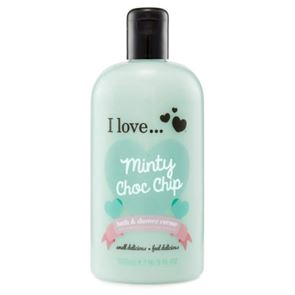 I Love...Minty Choc Chip Bubble Bath and Shower Gel 500ml