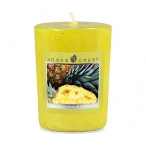 Goose Creek Candle Votive Exhilarating Pineapple 49gm