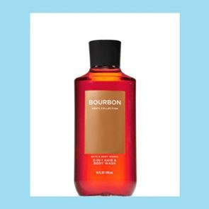 Bath And Body Works For Men Bourbon 2 In 1 Hair Body Wash 295ml