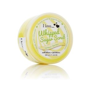 I Love...Lemon Sorbet Whipped Sugar Scrub 200ml