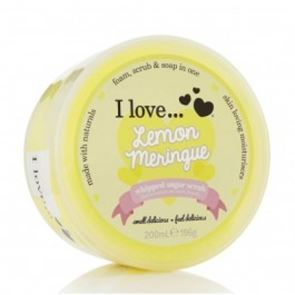 I Love...Lemon Meringue Whipped Sugar Scrub 200ml