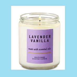 Bath And Body Works Medium Candle Lavender Vanilla 198gm