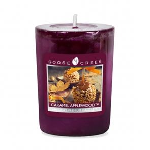Goose Creek Candle Votive Caramel Applewwod 49gm