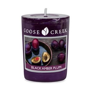 Goose Creek Candle Votive Black Amber Plum 49gm