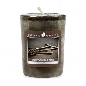 Goose Creek Candle Votive Burlwood Oak 49gm