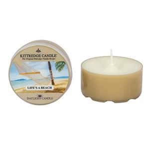Kittredge Daylight DayLight Candles Lifes A Beach