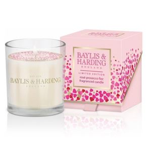 Baylis & Harding Rose Prosecco Fizz 1 Wick Candle