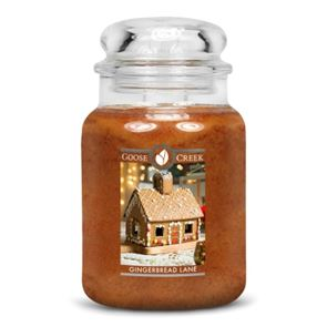 Goose Creek Large Candle Gingerbread Lane 24oz
