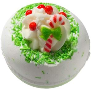 Bomb Cosmetics Candy Cane Lane Bath Bomb 160gm