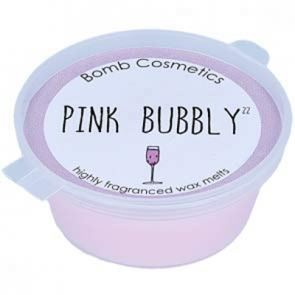 Bomb Cosmetics Wax Mini Melts Pink Bubbly
