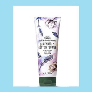 Bath and Body Works Lavender & Cotton Flower Body Cream 226ml