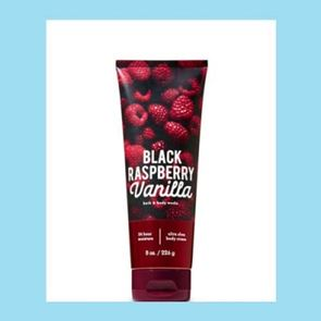 Bath and Body Works Black Raspberry & Vanilla  Body Cream 226gm
