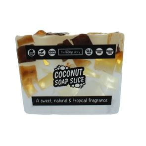 The Soap Story Coconut Soap Slice 120g