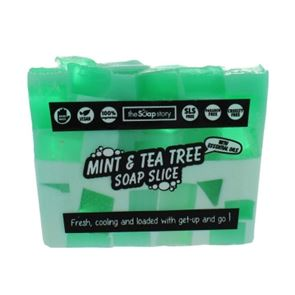 The Soap Story Mint & Tea Tree Soap Slice 120g