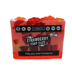 The Soap Story Strawberry Soap Slice 120g