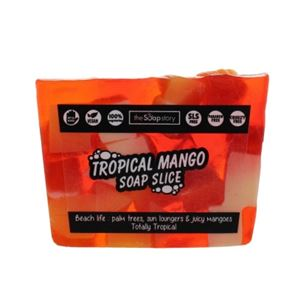 The Soap Story Tropical Mango Soap Slice 120g