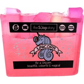 The Soap Story Unicorn Sparkling Soap Slice 120g