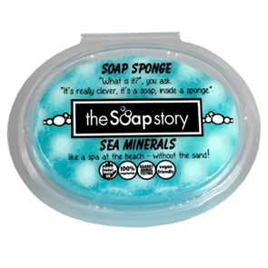 The Soap Story Sea Minerals Massaging Sponge Soap 150g