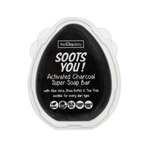 The Soap Story Soots You Activated Charcoal Super Soap Bar 110g