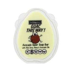 The Soap Story Guac The Way Avocado Super Soap Bar 110g