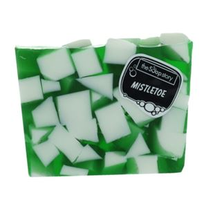 The Soap Story Mistletoe Soap Slice 120g
