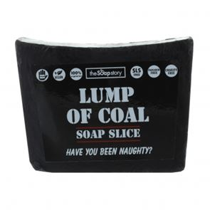 The Soap Story Lump Of Coal Soap Slice 120g