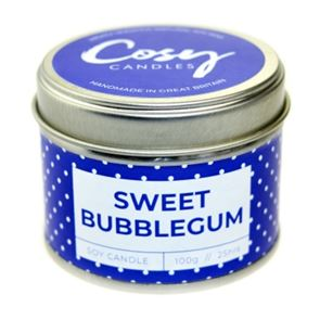 Cosy Candle Sweet Bubblegum 100gm