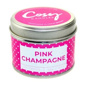 Cosy Candle Pink Champagne 100gm
