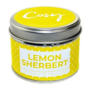 Cosy Candle Lemon Sherbert 100gm