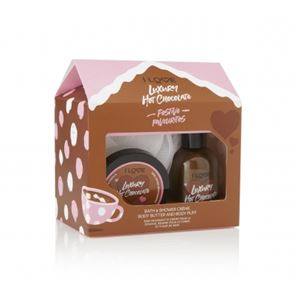 I Love...Luxury Hot Chocolate Bath Time Treats Gift Set