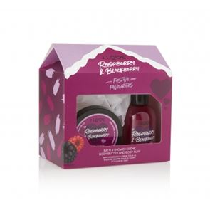 I Love...Luxury Raspberry & Blackberry Bath Time Treats Gift Set