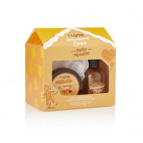 I Love...Gingerbread Cookie Bath Time Treats Gift Set